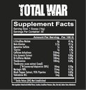 Redcon1 Total War Preworkout-30Serv.-441G-Watermelon