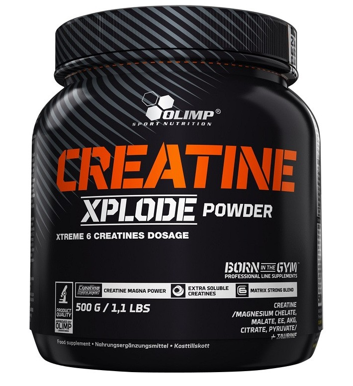 [5901330055874] Olimp Sport Nutrition Creatine Xplode Powder-86Serv.-500G-Pineapple