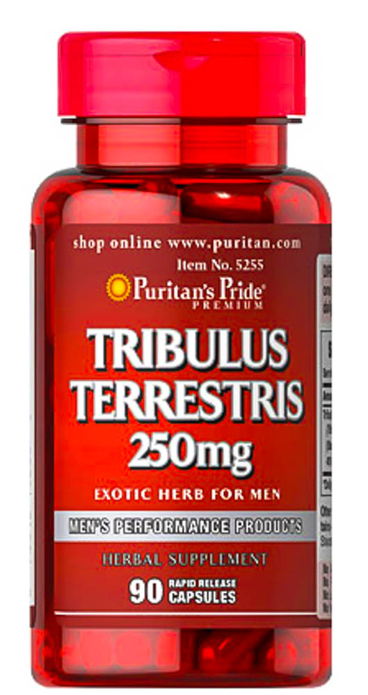 [074312152559] Puritan's Pride Tribulus Terrestris 250 mg