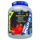 [6224009728084] Global Pharma build muscle whey-70Serv.-2.27Kg-Strawberry