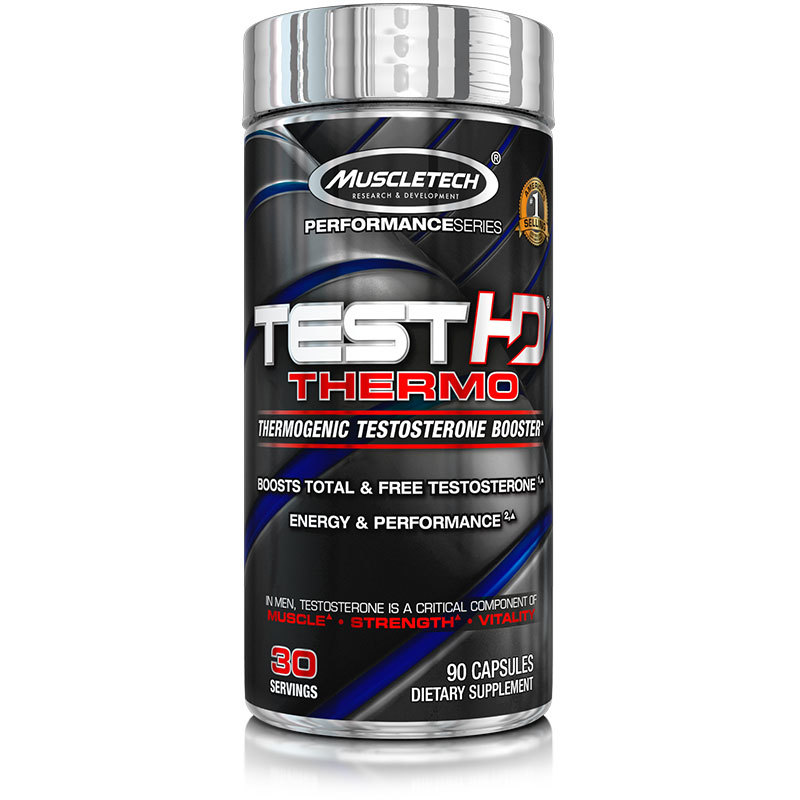 [631656609516] Muscletech Performance Test HD Thermo-30Serv.-90Caps.