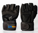 [151101] Max Muscle Lifting Gloves&Wrist Support-XL-Black