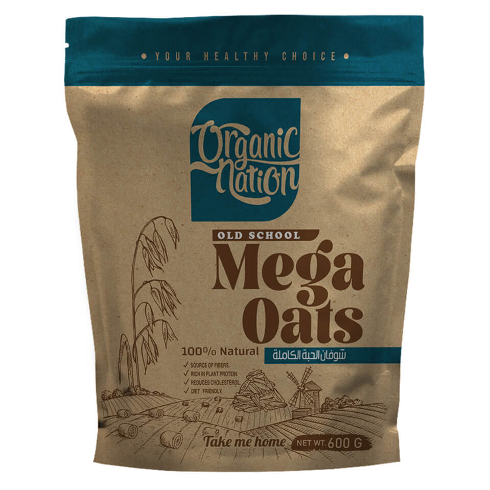 [6222023700192] Organic Nation Mega Oats-600G