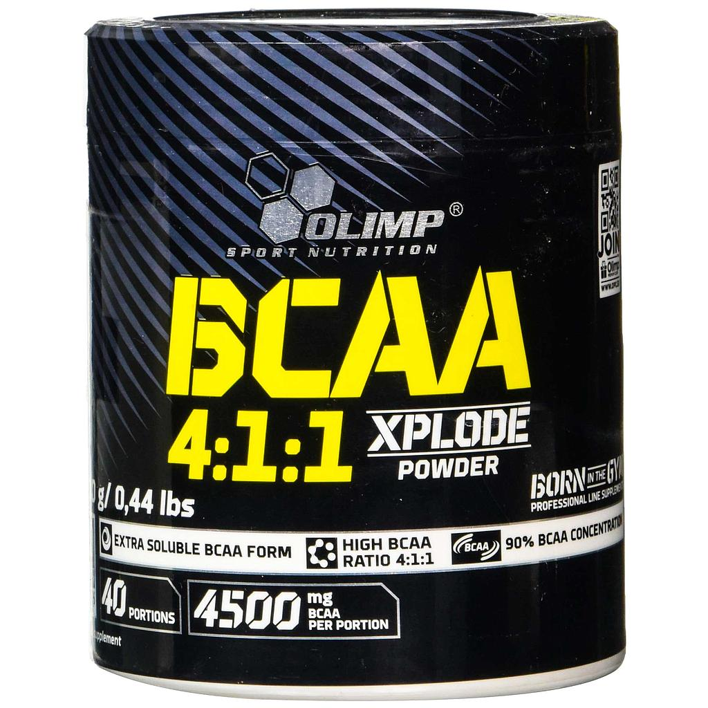 [5901330058899] Olimp Sport Nutrition BCAA 4:1:1 Xplode Powder-40Serv.-200G-Fruit Punch