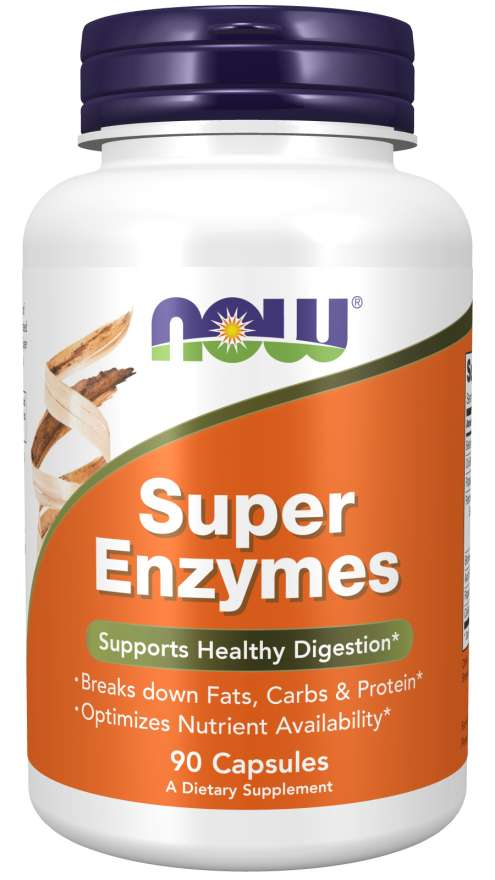 [733739029607] Now Foods Super Enzymes-90Serv.-90Tabs.