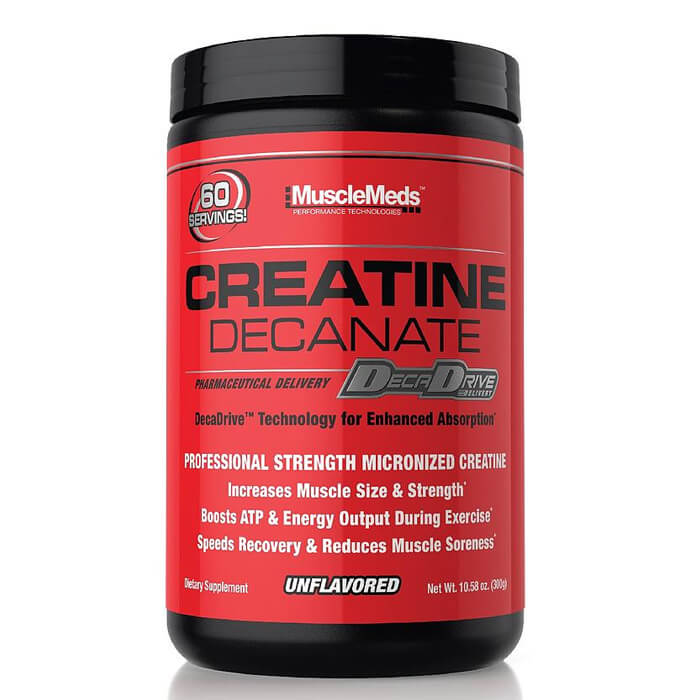 [891597002603] MuscleMeds Creatine Decanate-60Serv.-300G