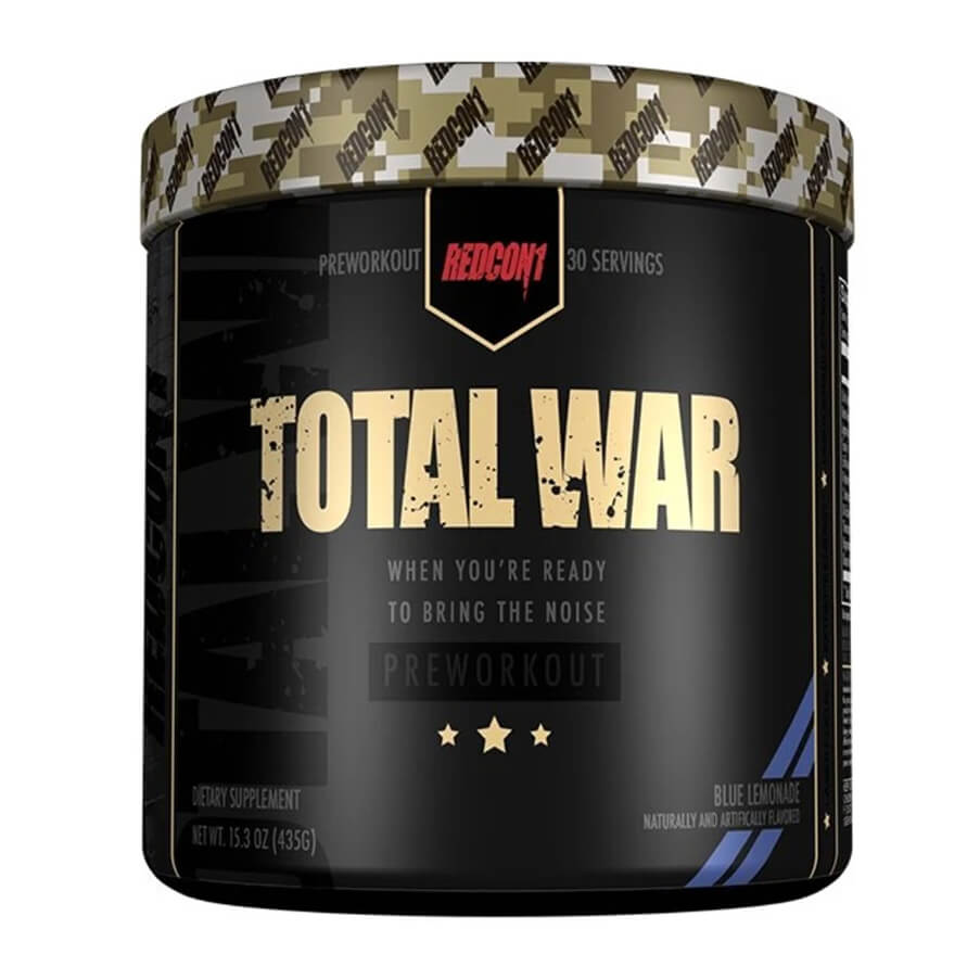 [850004759271] Redcon1 Total War Preworkout-30Serv.-441G-Grape