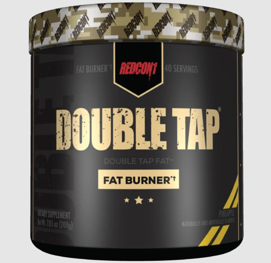 [810044571097] Redcon1 Double Tap Fat Burner-40Serv.-200G-Pineapple