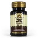 [035046004163] Windmill Natural vitamins zinc gluconate 50mg-100Serv.-100Tabs.