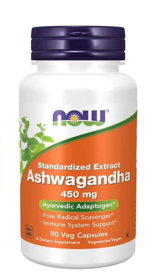 [733739046031] Now Foods Standardized Extract Ashwagandha 450mg-90Serv.-90Veg Caps.