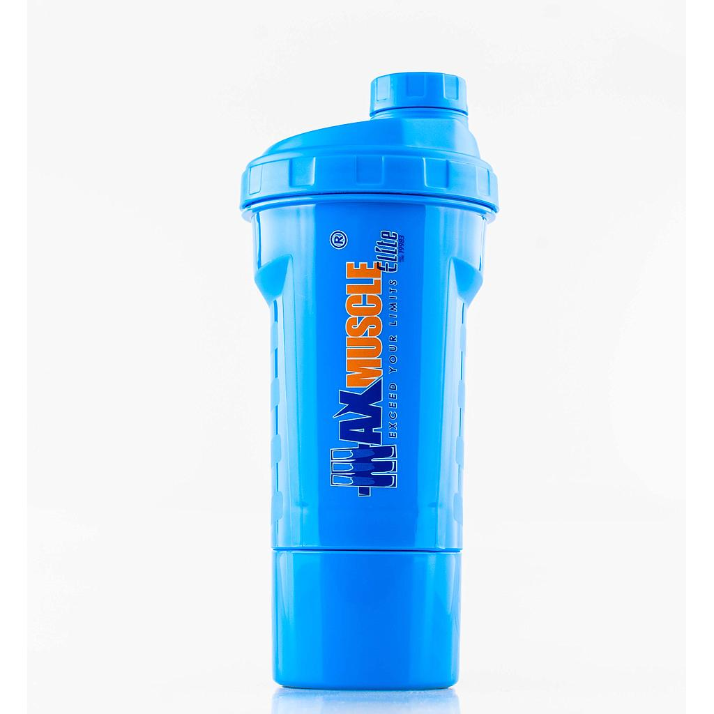 [6224009096206] Max Muscle Smart Shaker-550ml-Blue