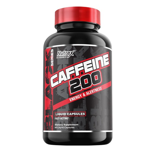 [857268005847] Nutrex Research Caffeine 200-60Serv.-60Liquid Caps.