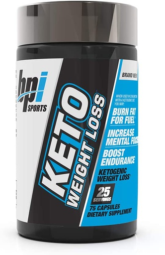 [810516030848] Bpi Sports Keto Weight Loss-25Serv.-75Caps.
